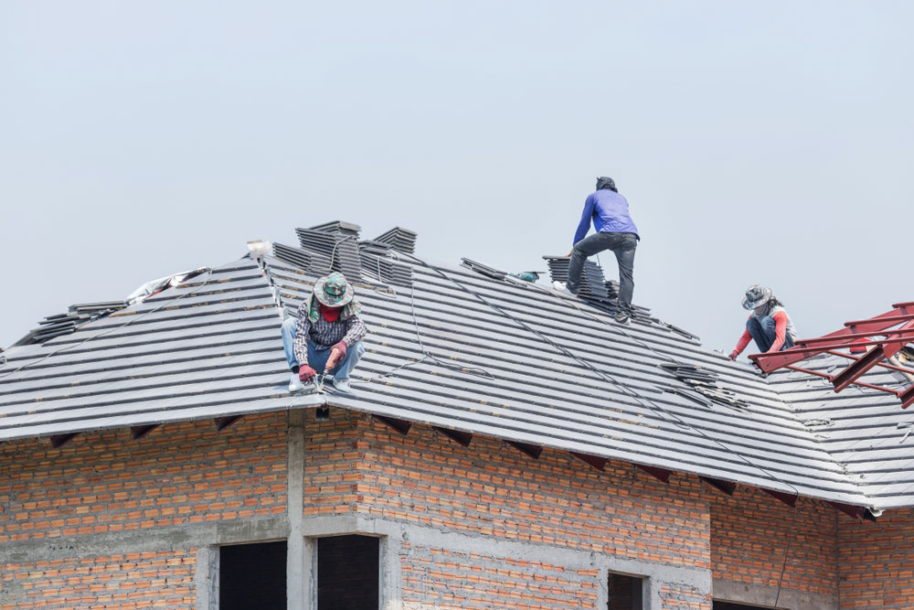 Roofing Companies at Work